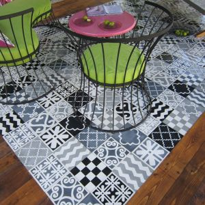 carreau ciment TAPIS