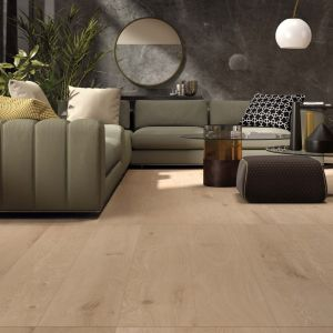 WOOD AMBER 26X200 + SENSI WIDE PIETRA GREY LUX 120X240